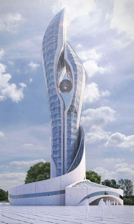 Cobra Tower Ameer Vfx. #dohuk #kurdistan Awesome Architecture & Engineering