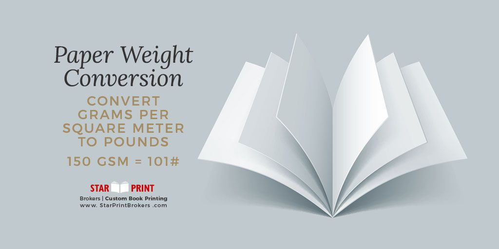 Paper Conversion And Paper Weight Weight Charts Chart And Bullet