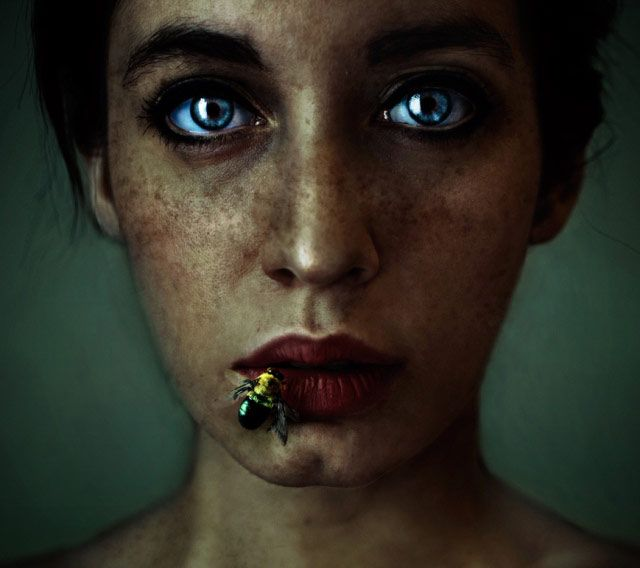 Artistic Self Portrait Photography By Lidia Vives