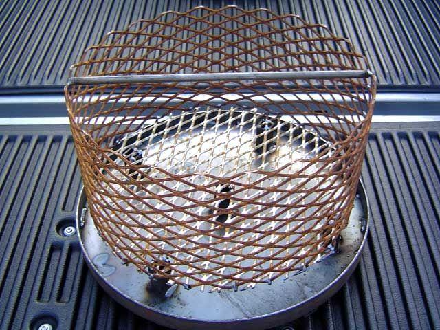 Firebox Design 18 Ash Pan 16 Charcoal Basket 1 Inch Legs On
