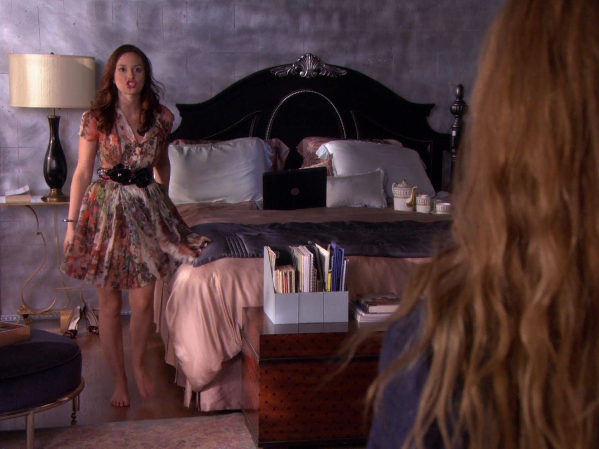 Blair Waldorf Floral Dress Bedroom Gossip Girl