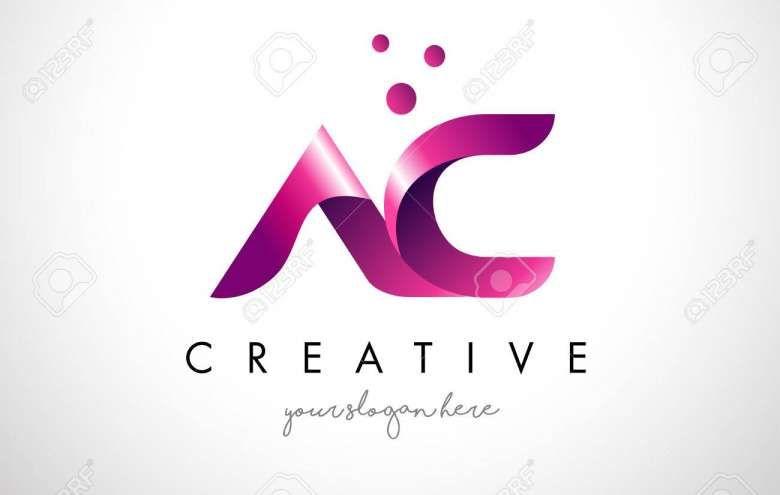 10 Ac Logo Design Initials Logo Design Logo Design Template Minimal Logo Design