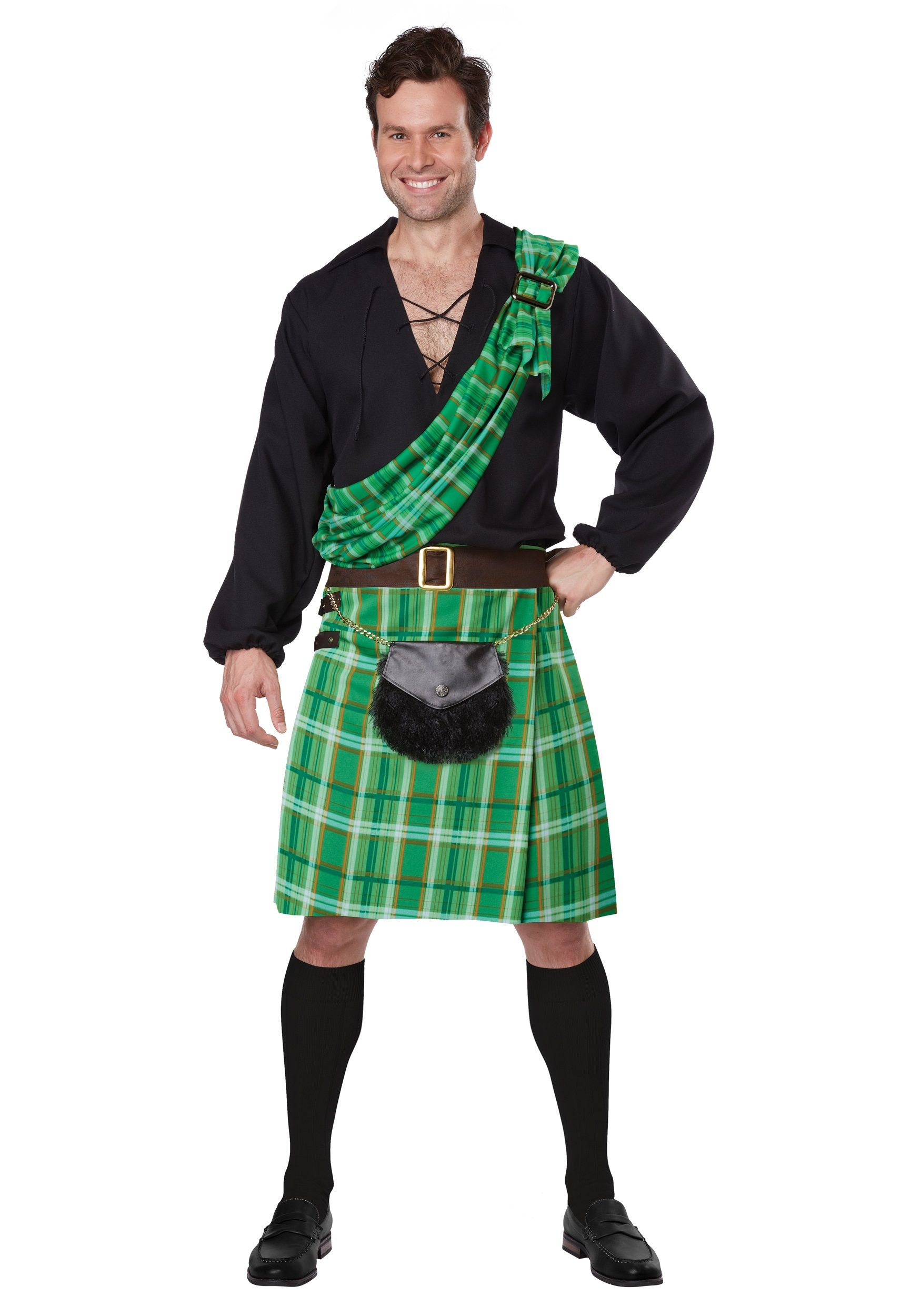 00a63eee9 halloween costume for men. scottish , kilt cosplay | Scottish ...