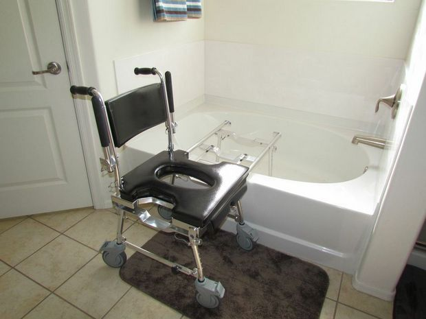 Go Anywhere Shower Chair The BEST Travel Shower Chair