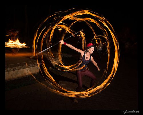how to photograph fire dancers | photography | Fire dancer, Exposure