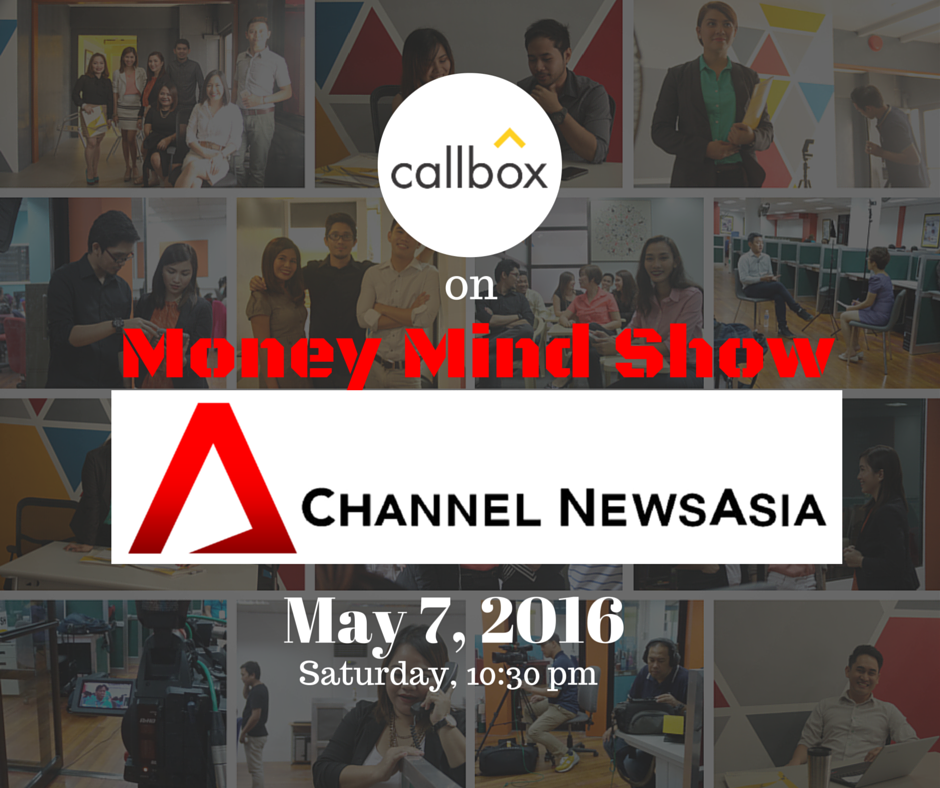 Callbox at Money Mind Show in Channel News Asia | Callbox - B2B Lead