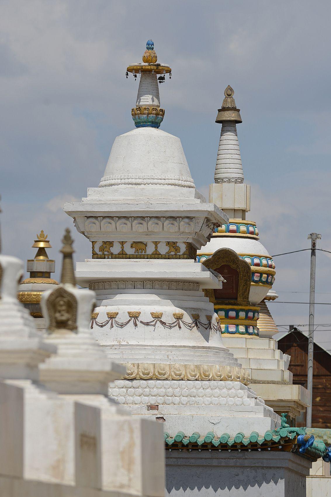 Temple bouddhiste tibétain de Gandan Temple bouddhiste