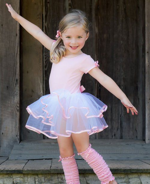07915ea77f59 Short Sleeve Pink Leotard is adorable for dance class!!