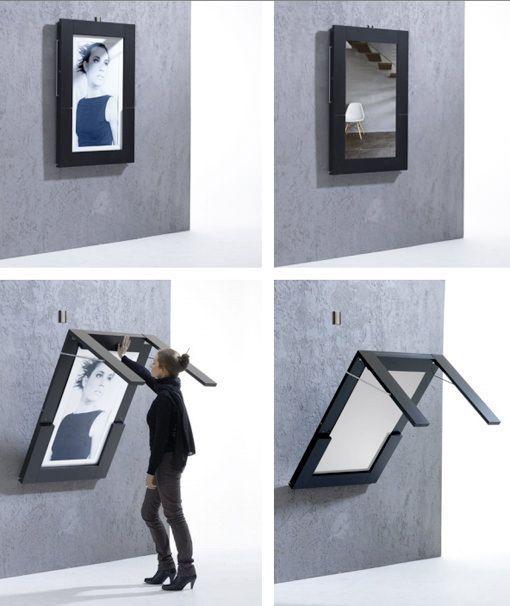 Mesa plegable para espacios peque os dise os - Mesas de estudio para espacios pequenos ...