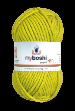 myboshi No.1 115 avocado 70% Polyacryl und 30% Schurwolle (Merino) 3,75 €