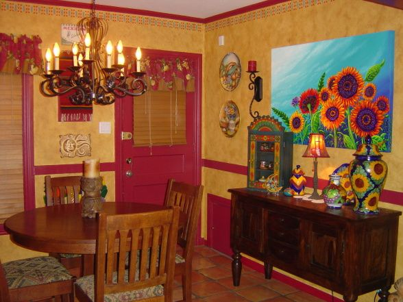 I Love Everything About This Mexican Home Decorating Ideas