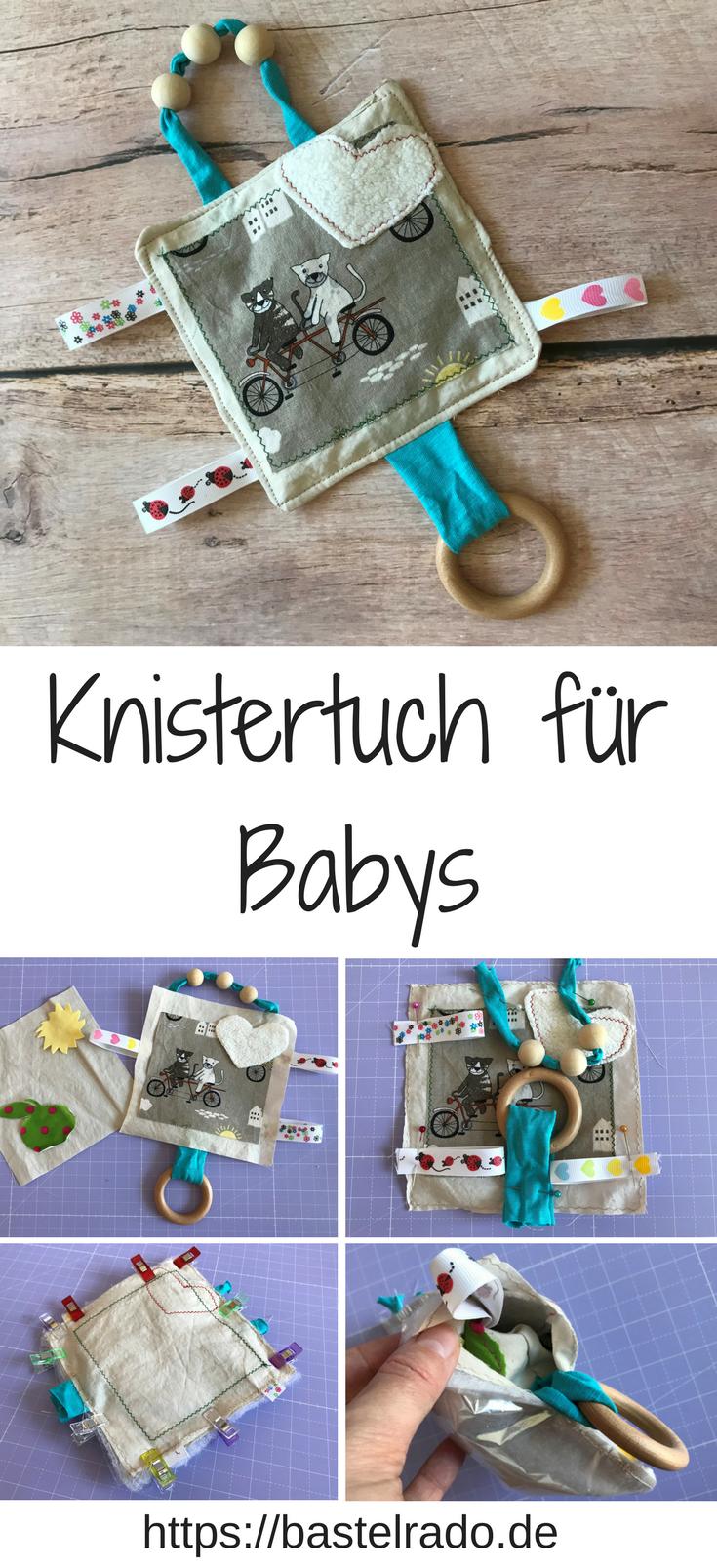 Photo of Fühl- und Knistertuch zaubert dem Baby ein Lachen ins Gesicht