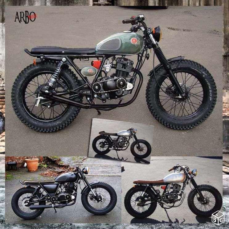 125 mash prepa bobber caf racer bratstyle motos vaucluse honda 125 pinterest. Black Bedroom Furniture Sets. Home Design Ideas