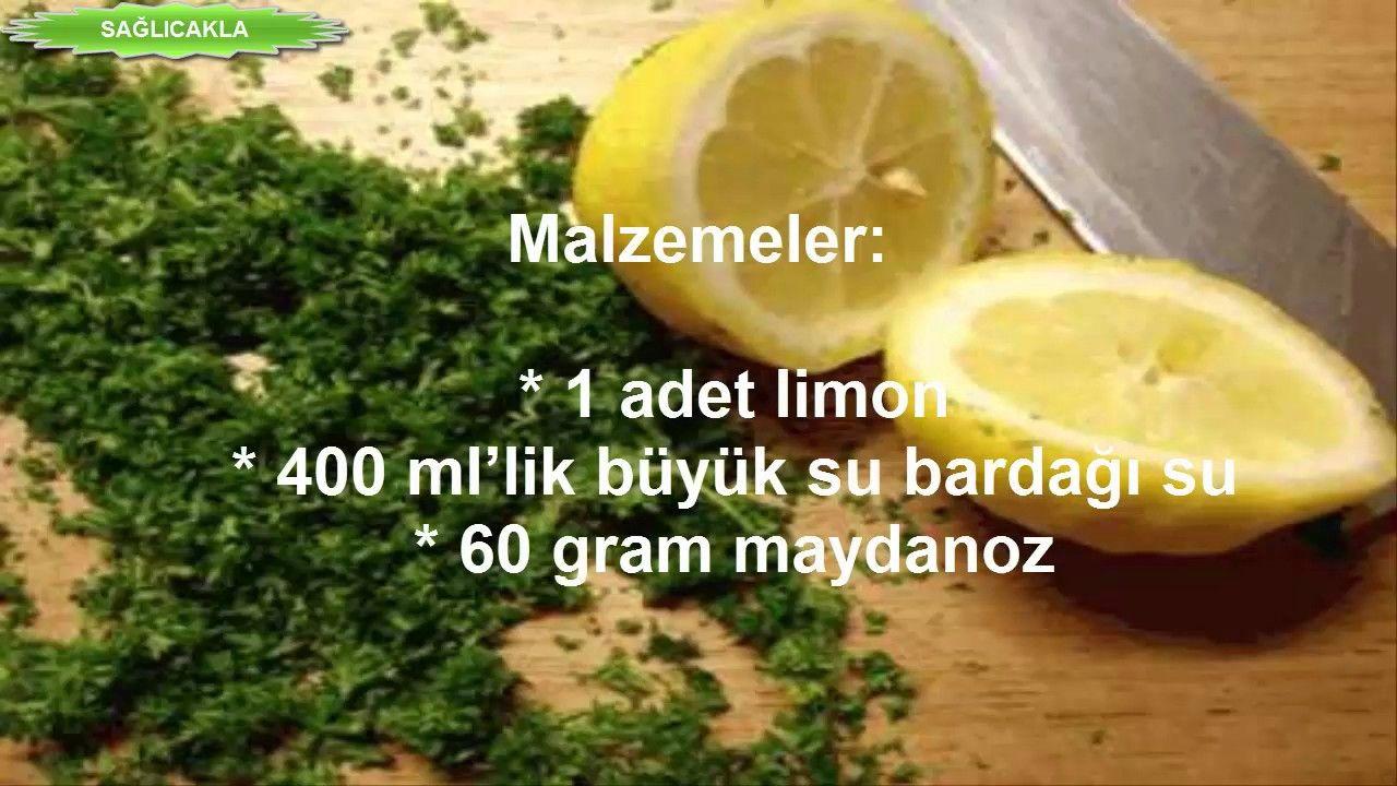 Göbek Karın Yağlarını Eriten Limonlu Kür