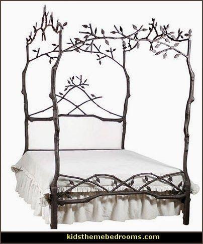 enchanting bedroom decorating inspiration photos | Enchanted Forest Bedroom Decorating Ideas | Decorating ...