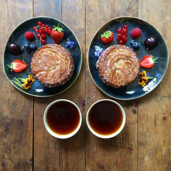 """This Is What Breakfast Looks Like Around The World #refinery29  http://www.refinery29.com/2015/12/98897/breakfast-recipes-around-the-world#slide-12  France: Kouign-Amann""""I first had a kouign-amann when I was about 12 years old on a school trip to Brittany. It was good, but I definitely wasn't old enough to appreciate the complexity of it. I came across them again recently at a bakery called Yeast in East London, and after trying them again decided to try making them myself.""""..."""