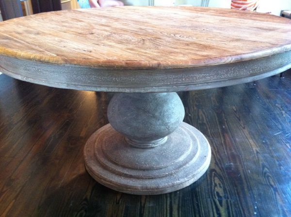 60 Inch Round Dining Table Game Room With Banquette Pinterest