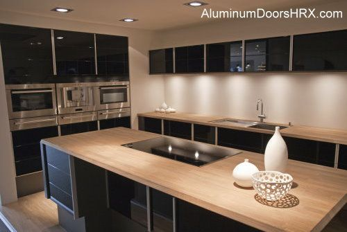 Aluminum Door Kitchen Cabinets Are A Great Choice To Improve Your Kitchen  Design. They Are