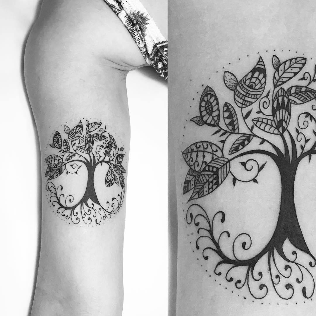Arbol De La Vida Por Carlos Eduardo Ink Tattoos Tattoo Designs