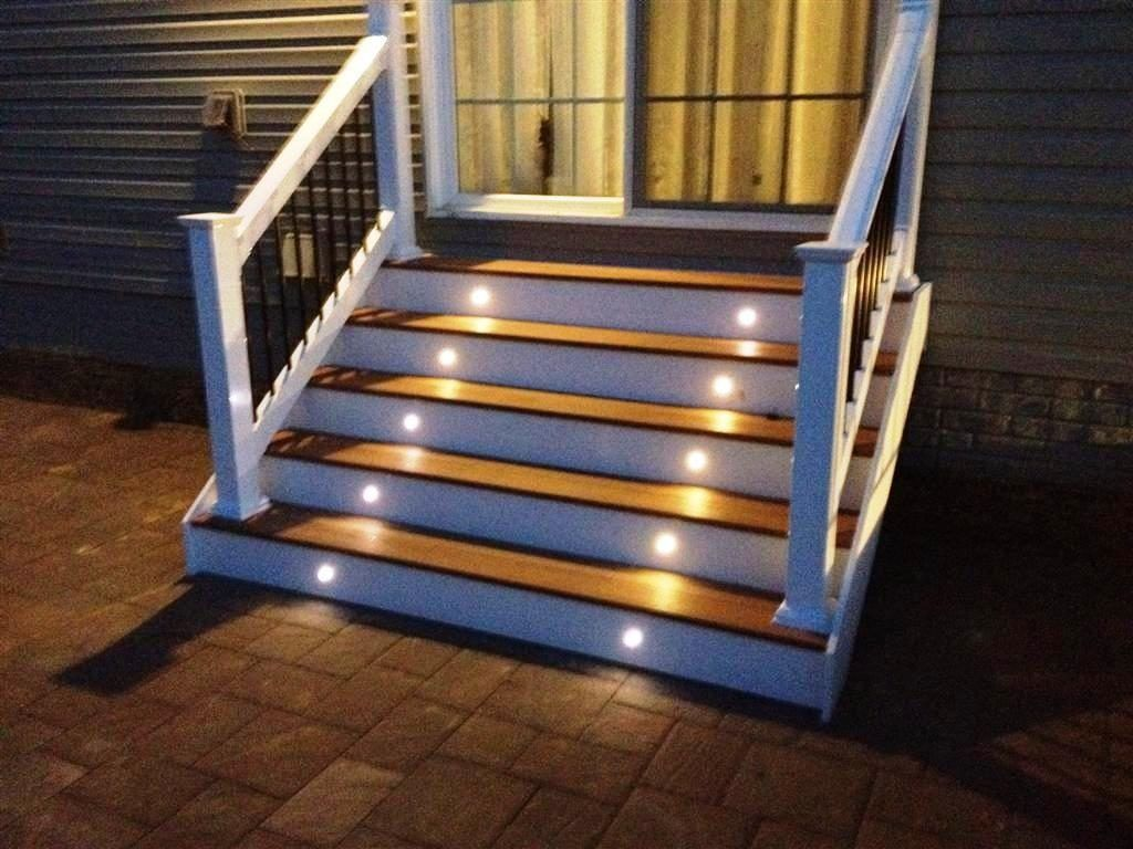 Best Outdoor Stair Lighting Fixtures Outdoor Stair Lighting 400 x 300