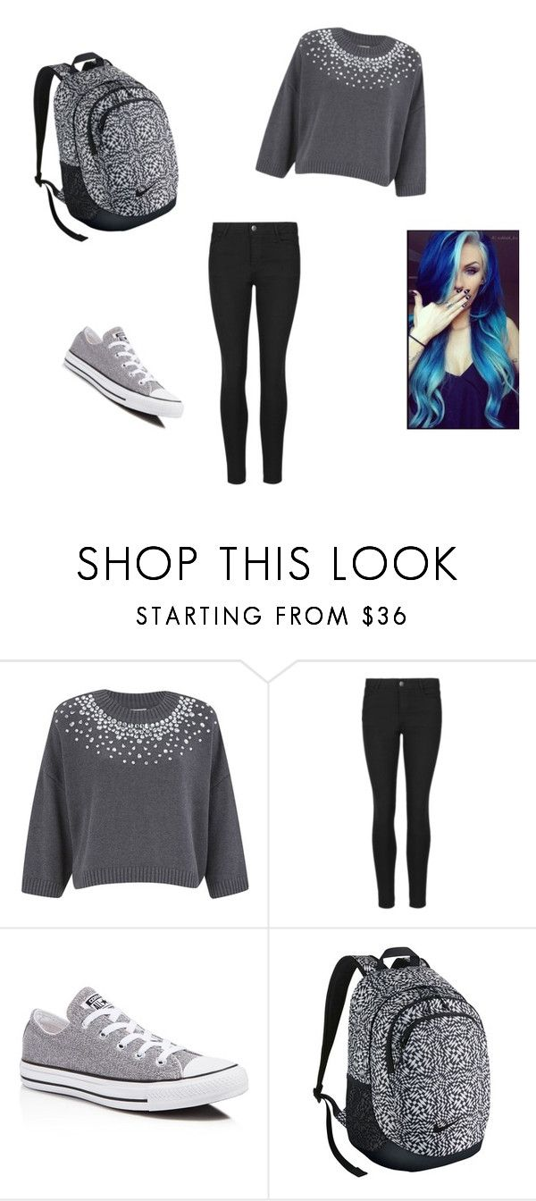 """""""Class"""" by lexusgq on Polyvore featuring MICHAEL Michael Kors, Indigo Collection, Converse and NIKE"""