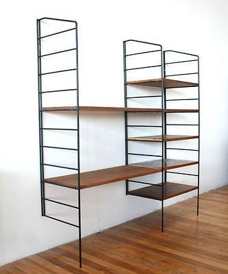 string system ladderax modular wall unit shelving swedish retro