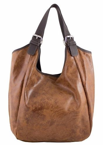 a610dab57c71 Etasico Mona Distressed Leather Handbag Brown Hobo Bag  199 SALE  169 FREE  SHIPPING  etasico  etasicomona