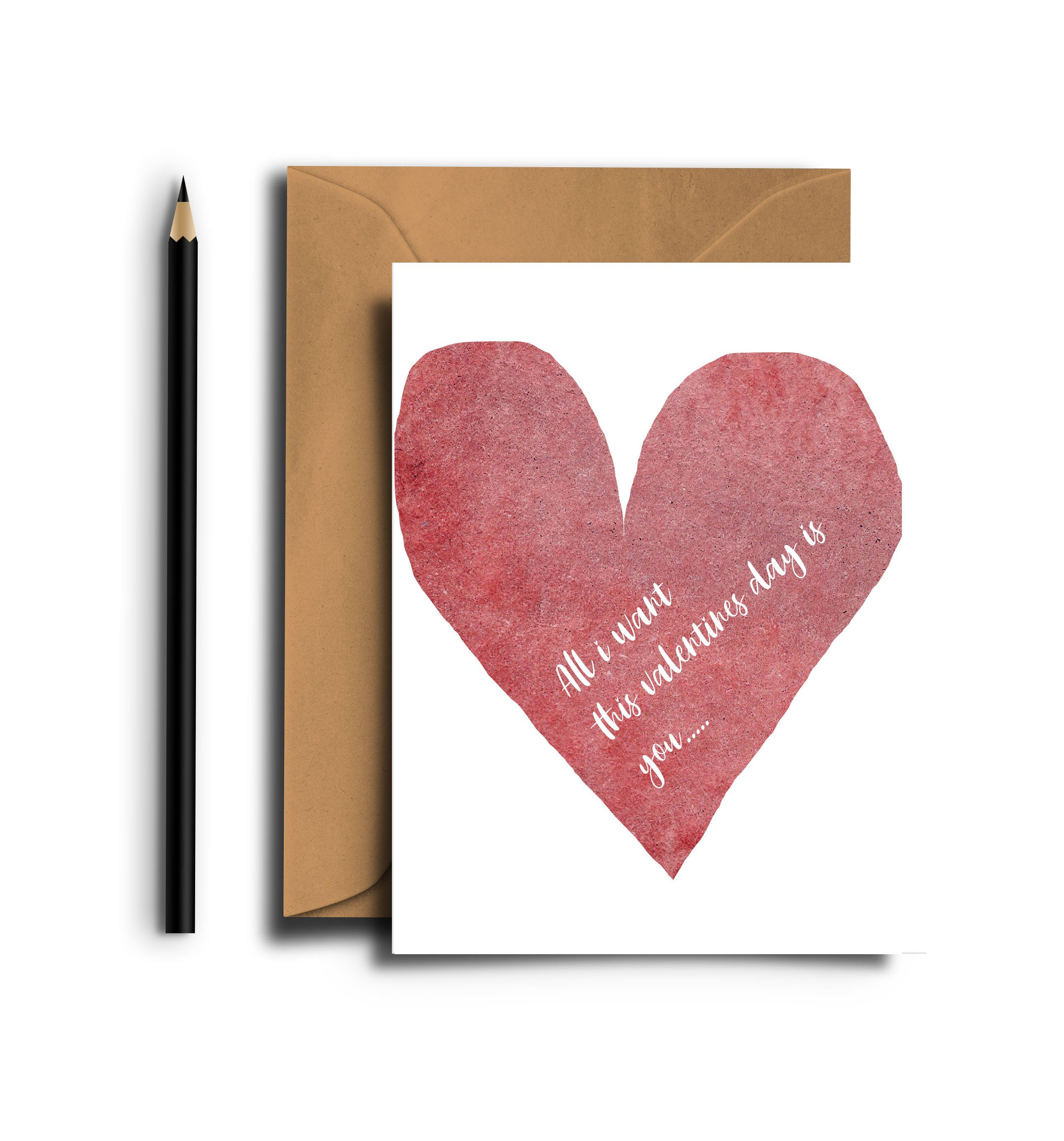 Printable Valentines Card For Him Valentines Card For Husband Valentines Day Card Printable Romantic Card Valentines Heart All I Want In 2020 Valentines Card For Husband Valentines Cards Romantic Cards