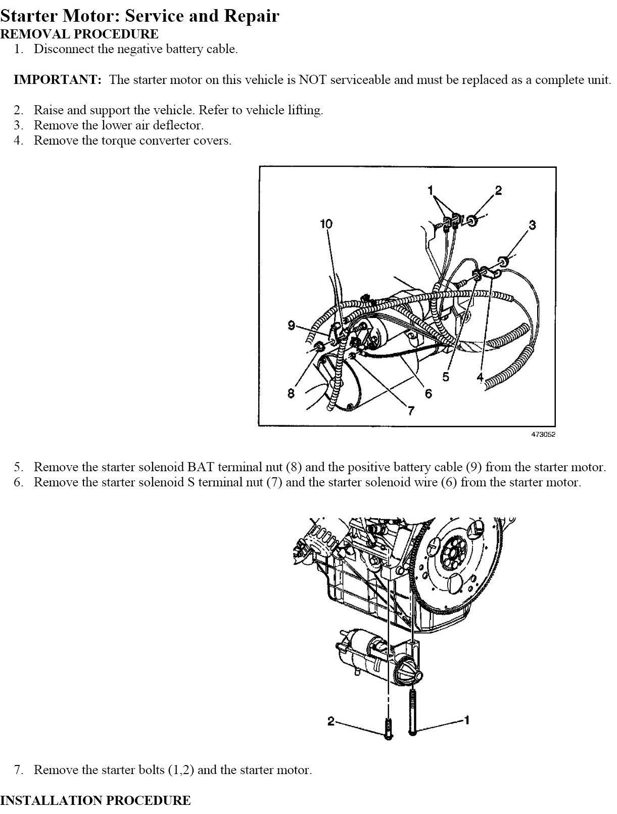 44 Best Of 2004 Chevy Impala Starter Wiring Diagram in