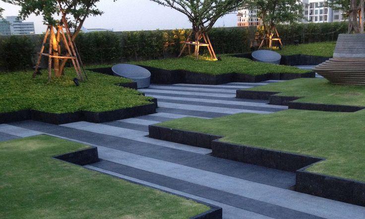 Shma Designs Residential Landscape Pinterest Roof Landscape Modern Landscaping Roof Garden