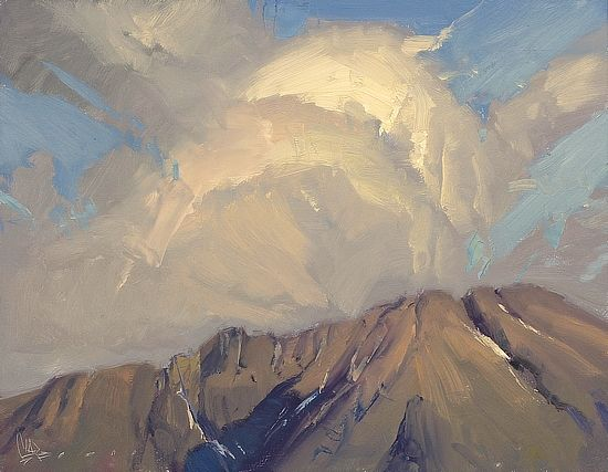Top of the Mountains by Josh Clare - Greenhouse Gallery of Fine Art