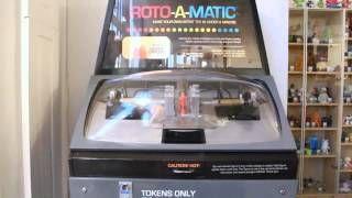 ROTOFUGI!!    The Roto-a-Matic in Action, via YouTube.