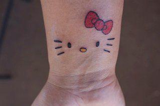 Ygibson S Image Hello Kitty Tattoos Hello Kitty Bow Tattoos