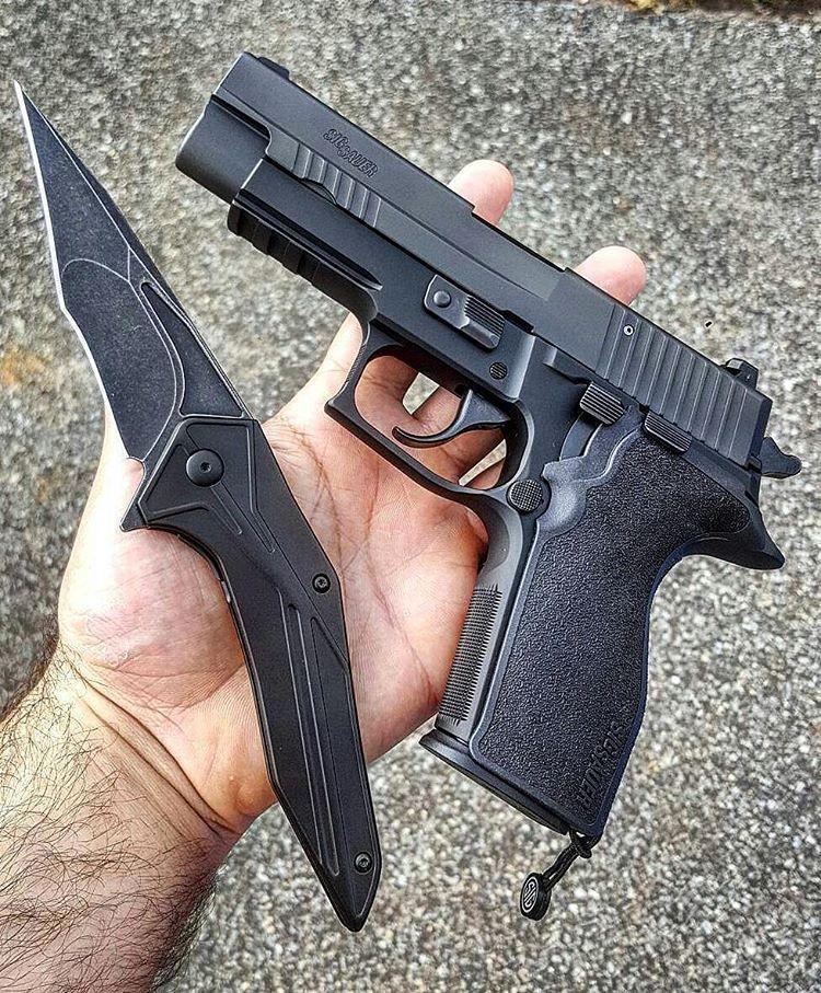 Sig Sauer P227 Enhanced Elite 45 ACP | EDC | Guns, Hand guns, Sig sauer