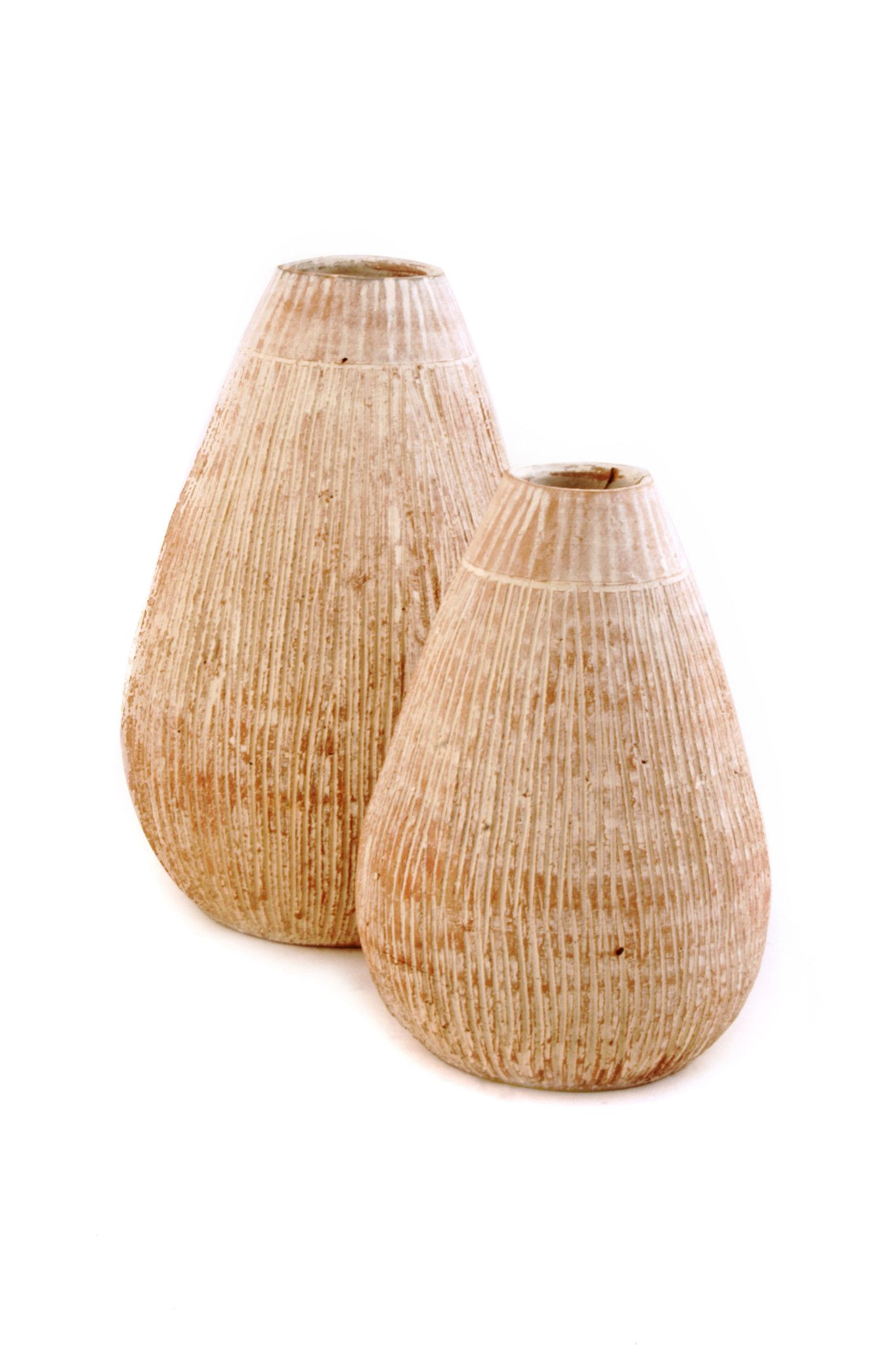 Coconut Shell Pattern Ceramic Vases