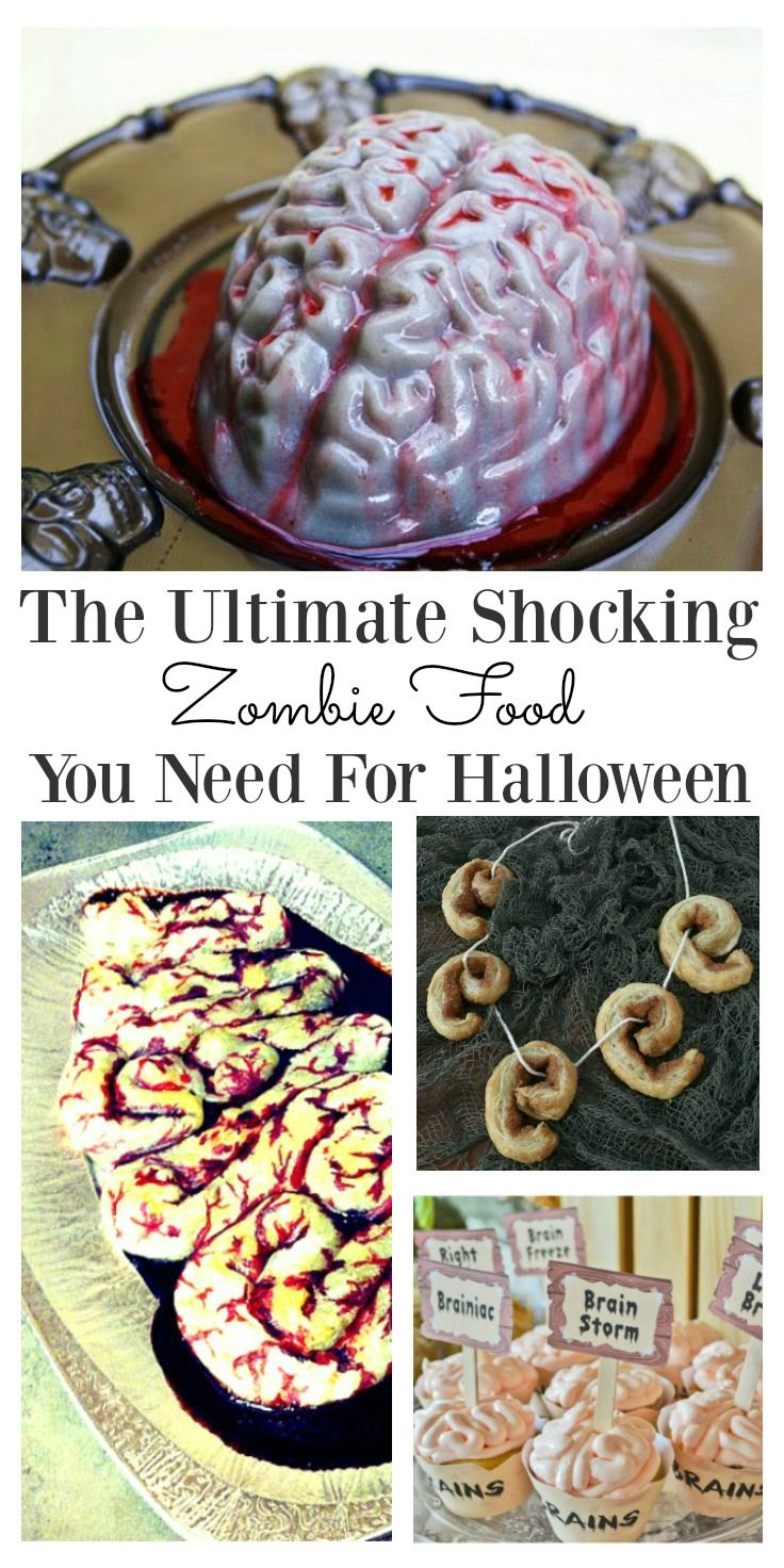 6 Stomach turning zombie food ideas