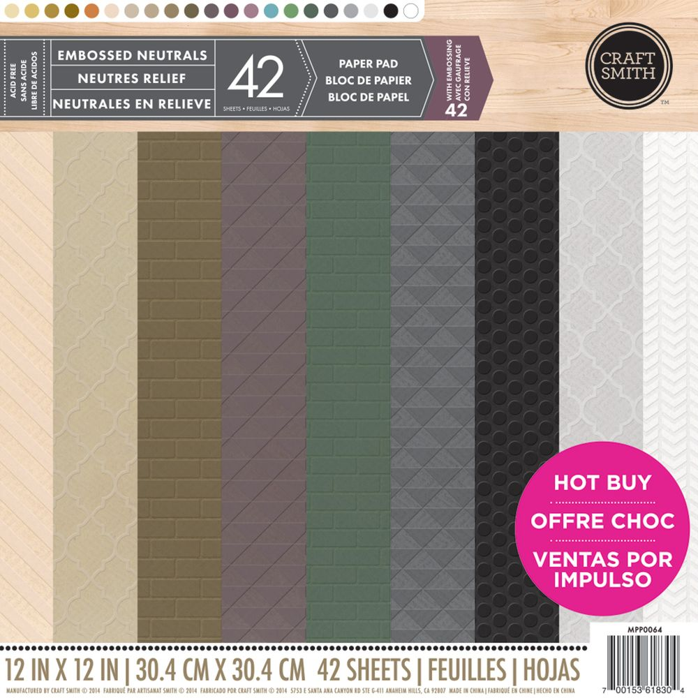12 new paper pads at michaels craft smiths embossed neutrals 12 new paper pads at michaels craft smiths embossed neutrals jeuxipadfo Choice Image