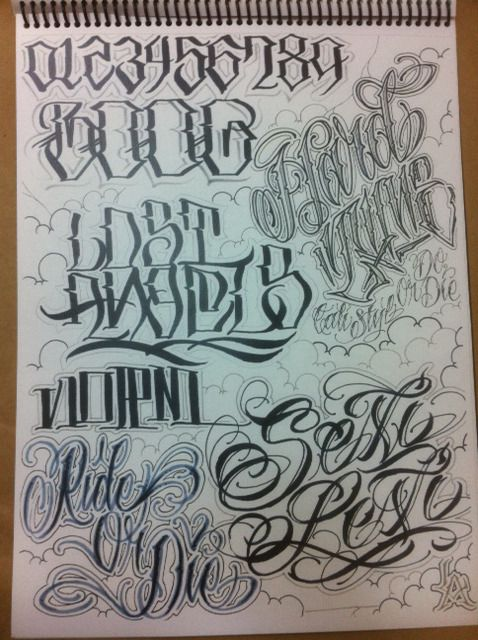 Lettering chicano instagram pesquisa google letrax