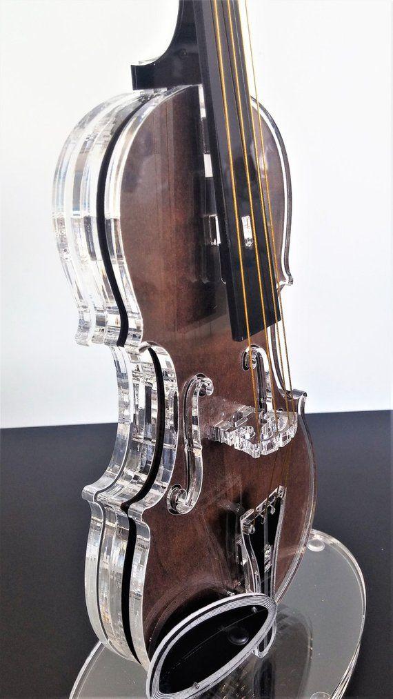 Violin model, Art Violin, Gift for him, Teacher gift, Musical instrument, Gift for musician, Music g
