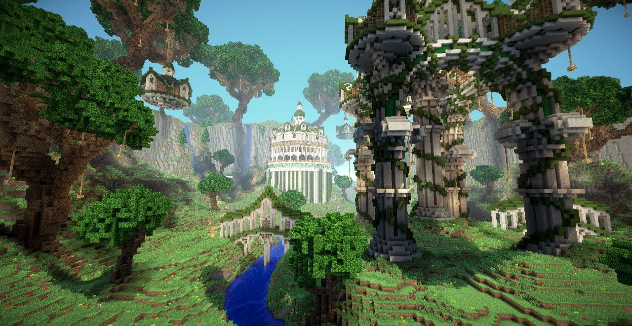 Greek Architecture Minecraft viking long house or main house. hermit's shelter 2.0 minecraft
