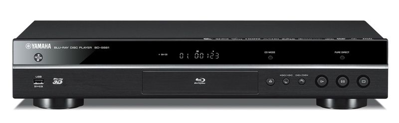 Yamaha BD-S681 | Blu-ray-Player, Farbe: schwarz
