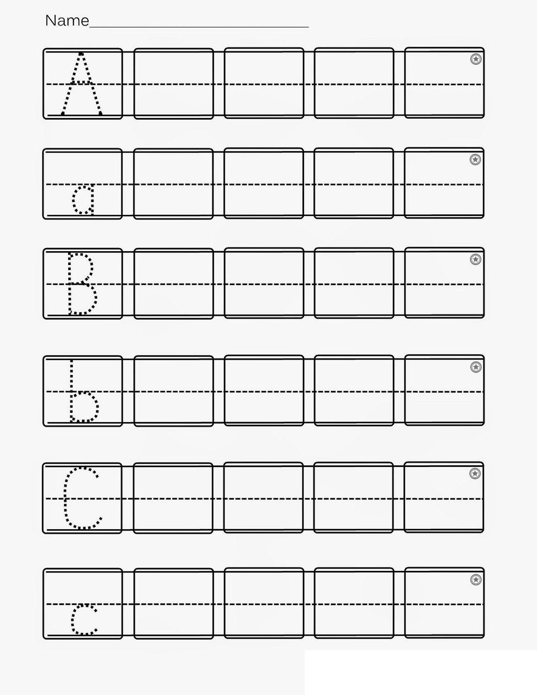 Alphabet Abc Worksheet Printables In