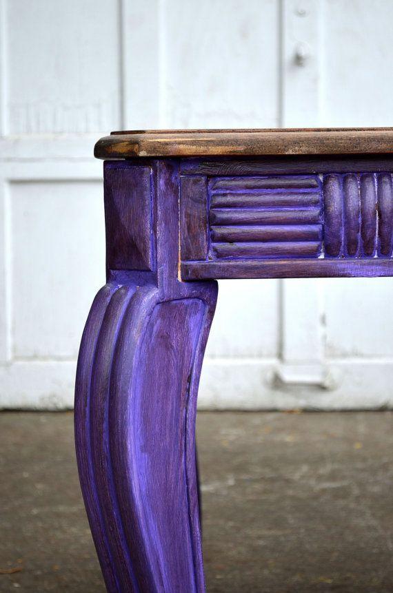 Distressed purple <3