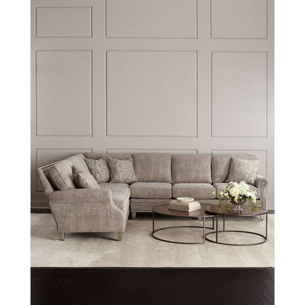 Massoud Havisham Left-Side Sectional Sofa ($8799) ? liked on Polyvore featuring home  sc 1 st  Pinterest : left side sectional couch - Sectionals, Sofas & Couches