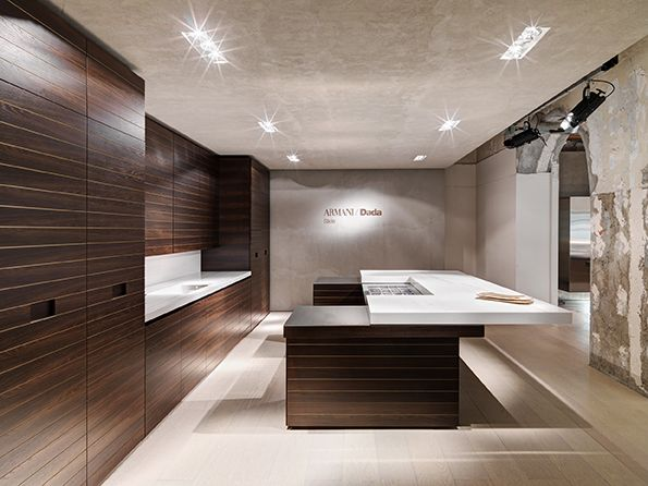 Giorgio Armani has a new kitchen line for Dada | Custom Kitchens ...