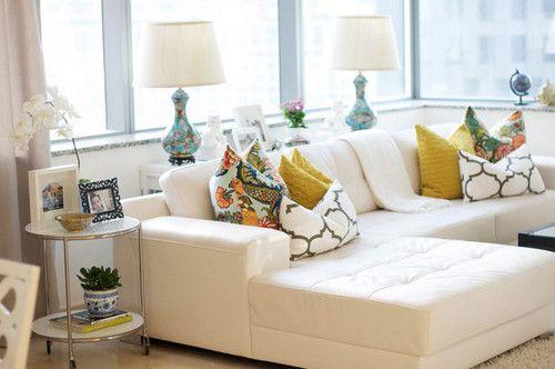 Caitlin Wilson Style Files Living Room White Trendy Living