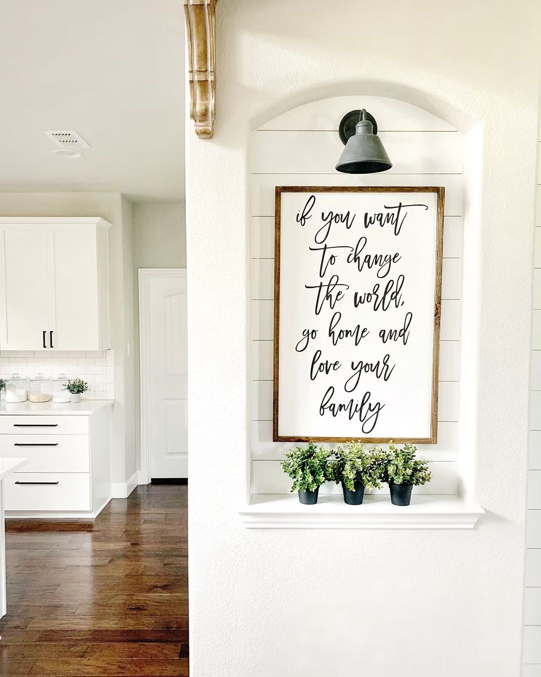 The Bravo Homestead Everyone S Home Should Have One Spot That Has An Inspirational Quote So Whenever You Are Having A Home Home Decor Items Home Decor