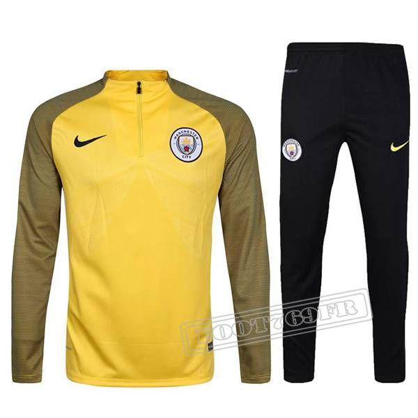 Veste Training Manchester City Foot Nike saison 201617 noir