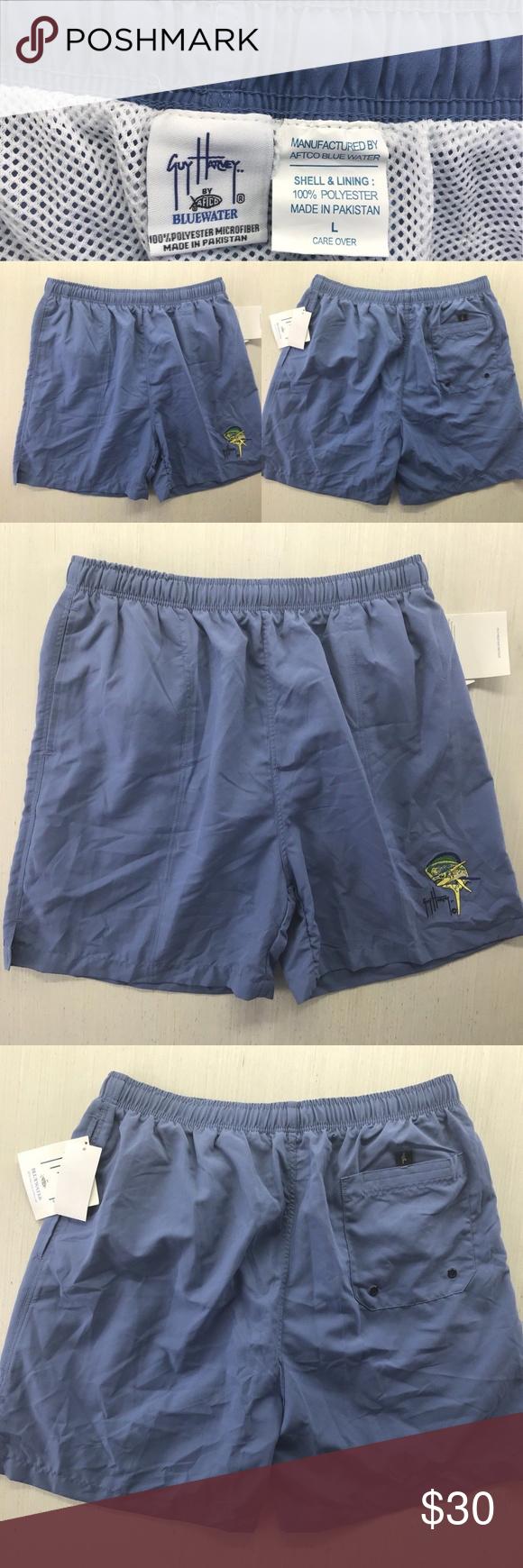1c25c03c4c Guy Harvey BlueWater swim trunks Mens Size Large Guy Harvey BlueWater swim  trunks Shorts Mens Size