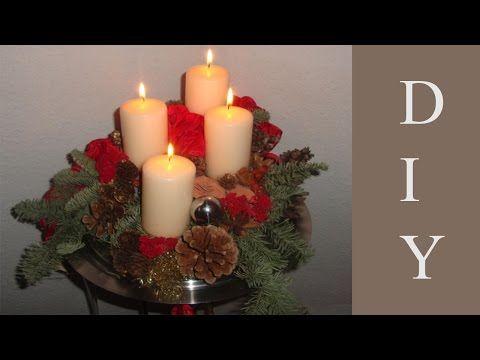 adventskranz adventsgesteck weihnachtsdekoration. Black Bedroom Furniture Sets. Home Design Ideas